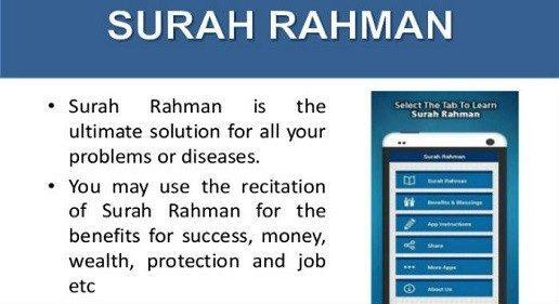 Benefits of Surah Rahman Wazifa for Love Marriage
