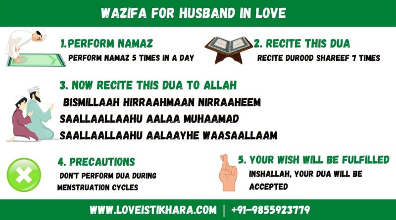 Wazifa For Husband's Love