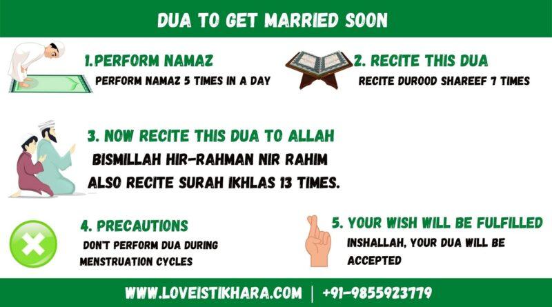 Dua To Get Married Soon